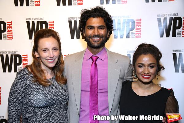 Adrienne Campbell-Holt, Sendhil Ramamurthy and Kavi Ladnier