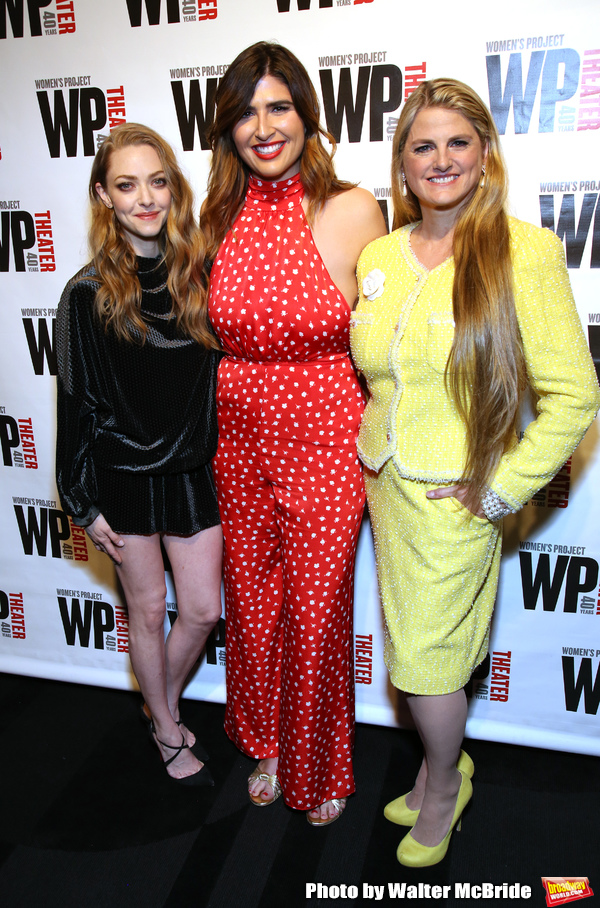 Amanda Seyfried, Emily Warren and Bonnie Comley Photo