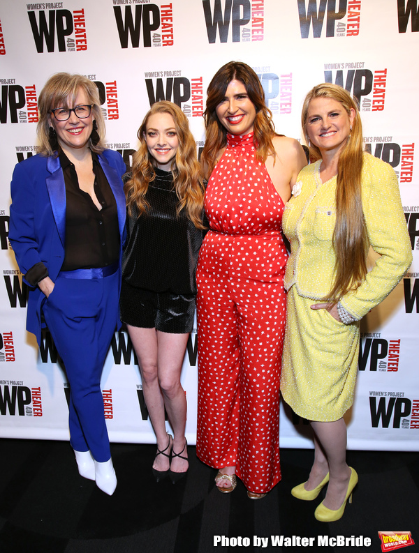 Lisa McNulty, Amanda Seyfried, Emily Warren and Bonnie Comley  Photo