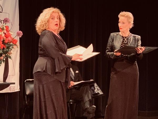 Mary Testa and Laila Robins