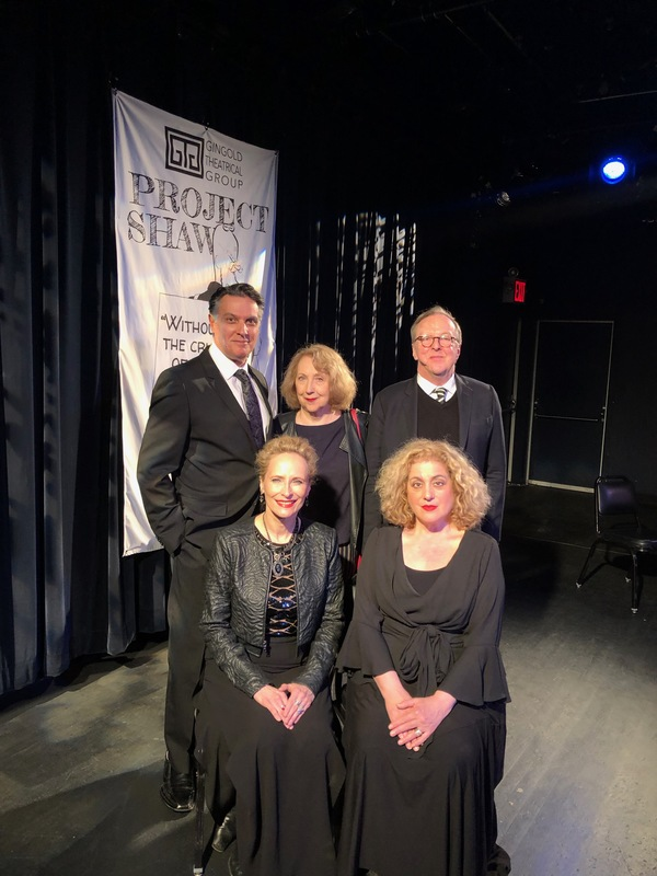 Robert Cuccioli, Pamela Hunt, Edward Hibbert, Laila Robins and Mary Testa