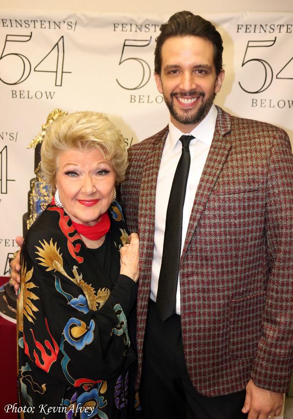 Marilyn Maye, Nick Cordero Photo