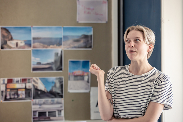 Photo Flash: Inside Rehearsal For OUT OF WATER at Orange Tree Theatre