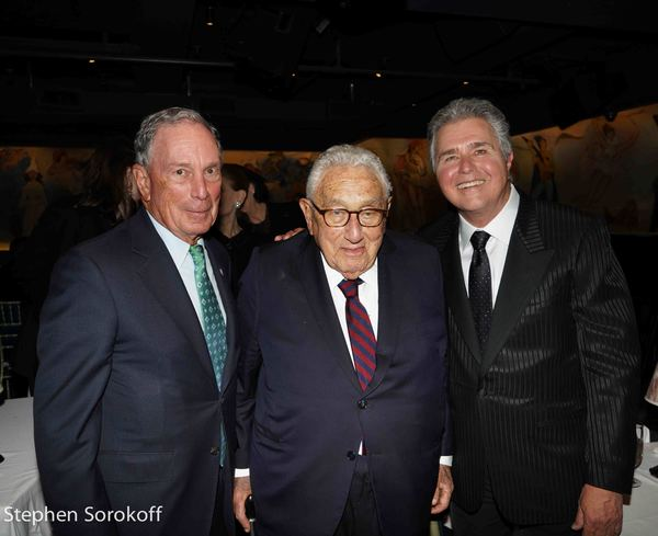 Michael Bloomberg, Henry Kissinger, Steve Tyrell