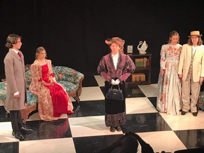 BWW Interview: Liam Mitchell And Clara West of THE IMPORTANCE OF BEING EARNEST with the Upstart Crows Of Santa Fe