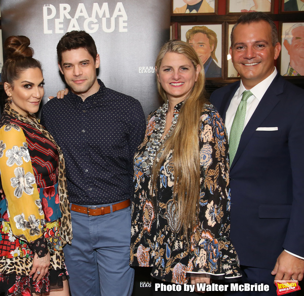 Shoshana Bean, Jeremy Jordan, Bonnie Comley and Stan Ponte