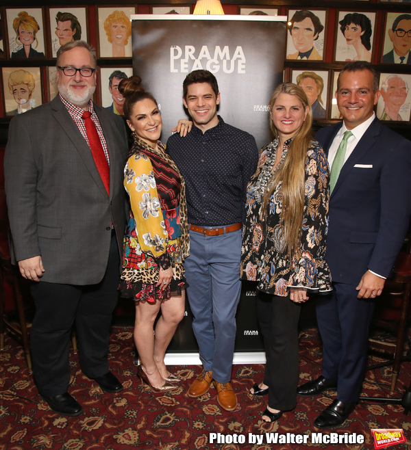 Gabriel Stelian-Shanks, Shoshana Bean, Jeremy Jordan, Bonnie Comley and Stan Ponte