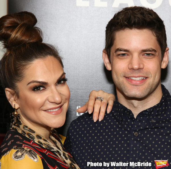 Shoshana Bean and Jeremy Jordan