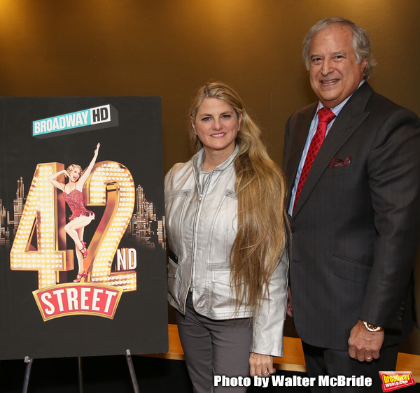 Photo Coverage: BroadwayHD Hosts a 42nd STREET Screening on 42nd Street!