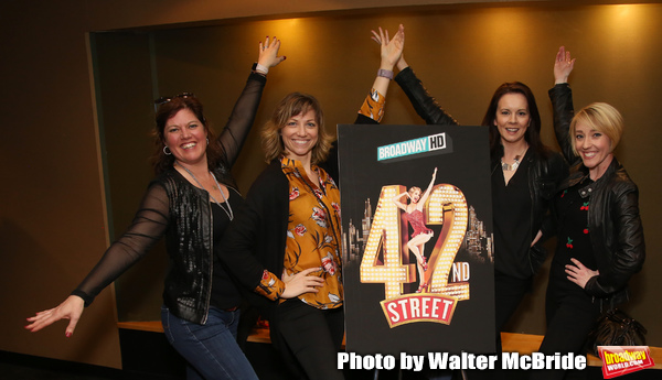 """42nd Street"" Alumni:Amy Dolan Fletcher, Sara Brians, Alison Levenberg and Kelly Shee Photo"