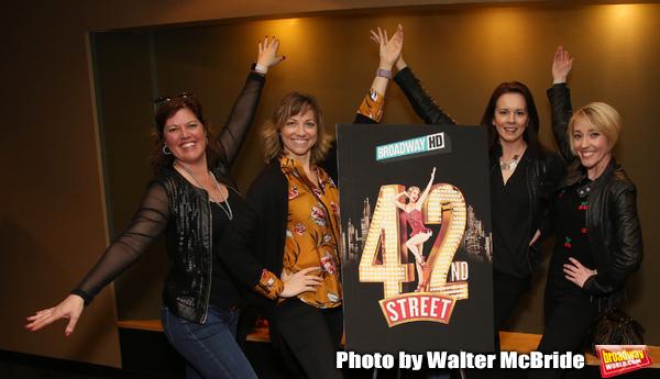 """42nd Street"" Alumni:Amy Dolan Fletcher, Sara Brians, Alison Levenberg and Kelly Sheehan"