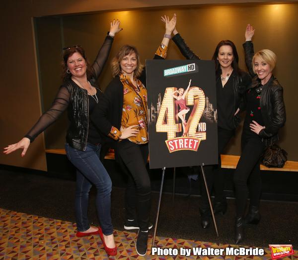 """42nd Street"" Alumni: Amy Dolan Fletcher, Sara Brians, Alison Levenberg and Kelly Sheehan"