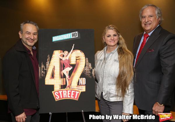 Joe DiPietro, Bonnie Comley and Stewart F. Lane  Photo