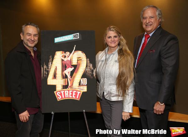 Joe DiPietro, Bonnie Comley and Stewart F. Lane