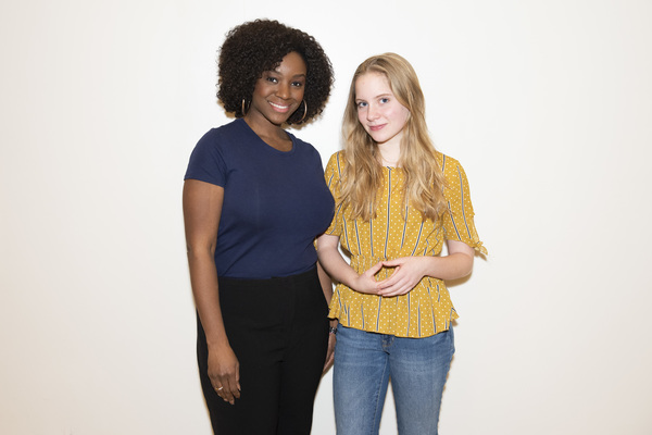 Elizabeth Teeter and Saycon Sengbloh  Photo