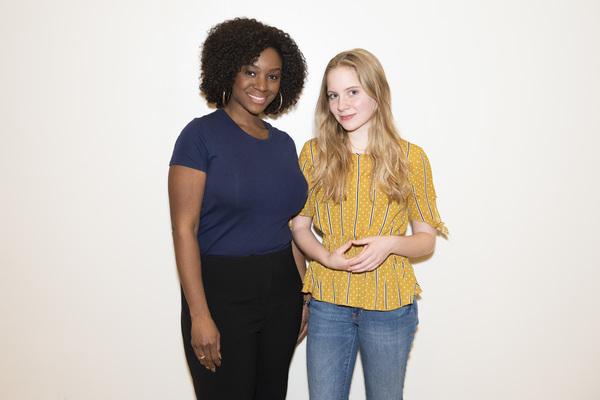 Elizabeth Teeter and Saycon Sengbloh