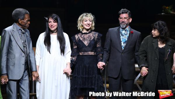 Andre De Shields, Rachel Clavkin, Anais Mitchell, David Neumann and Eva Noblezada Photo