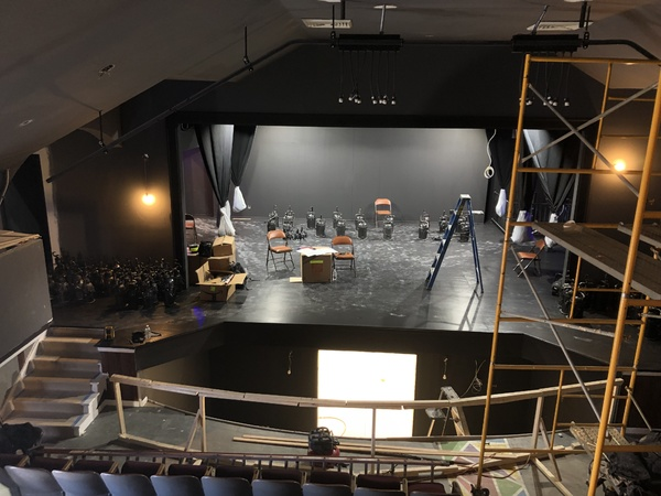 Photo Coverage: Renovations at the North Fork Community Theatre