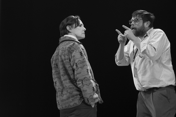 Laurie Metcalf, Zak Orth Photo