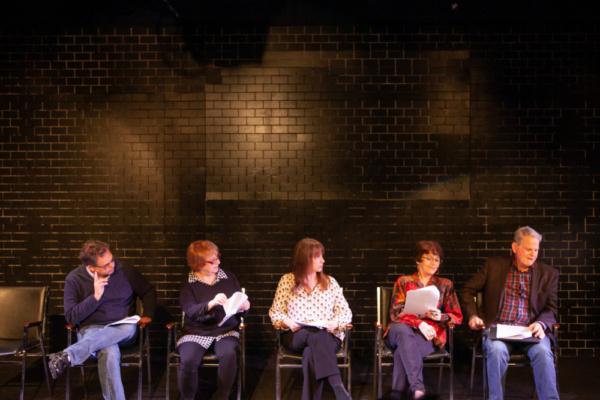 Dana Gould, Lynne Stewart, Laraine Newman, Marcia Rodd, Don Moss.
