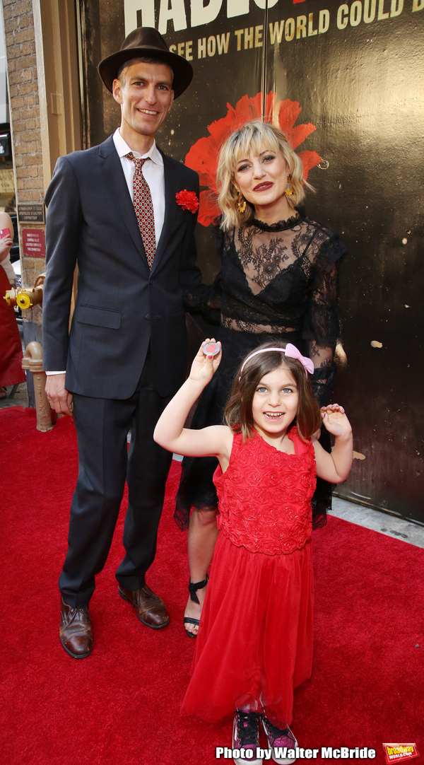 Anais Mitchell and family