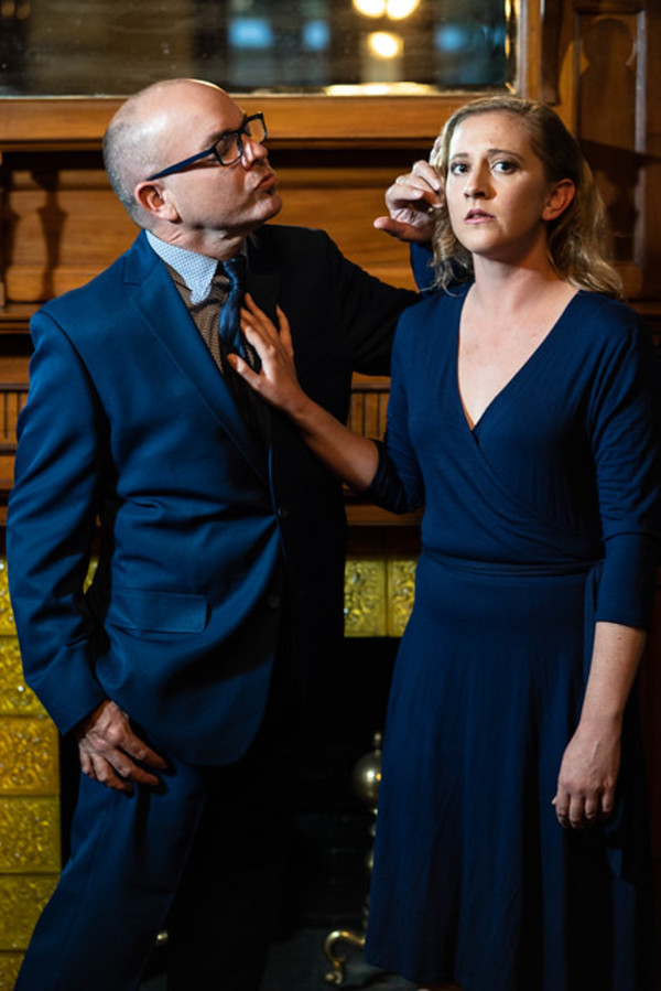 Jon VanMiddlesworth as Toby and Emily Belvo as Hedda
