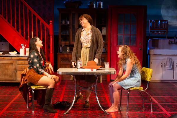 Chelsea Ryan McCurdy as Meg Magrath , Melissa Pritchett as Lenny Magrath and Skyler Sinclair as Babe Botrelle