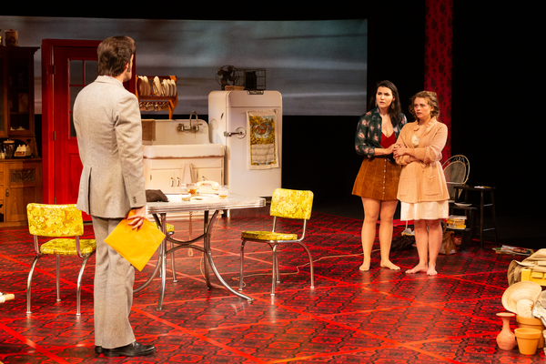 Dylan Godwin as Barnette Lloyd, Chelsea Ryan McCurdy as Meg Magrath and Skyler Sincla Photo