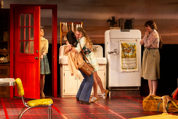 Bree Welch as Chick Boyle, Chelsea Ryan McCurdy as Meg Magrath, Skyler Sinclair as Ba Photo