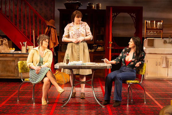 Bree Welch as Chick Boyle, Melissa Pritchett as Lenny Magrath and Chelsea Ryan McCurdy as Meg Magrath