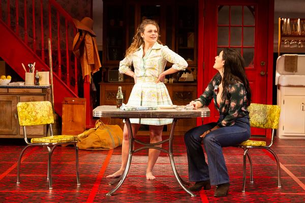 Skyler Sinclair as Babe Botrelle and Chelsea Ryan McCurdy as Meg Magrath