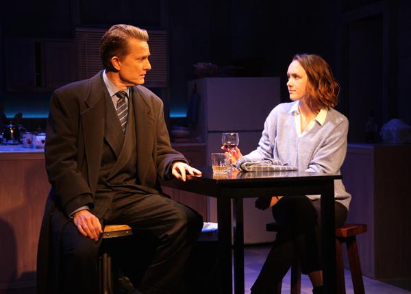 Steve Marvel (as Tom) and Jessica Erin Martin (as Kyra) Photo