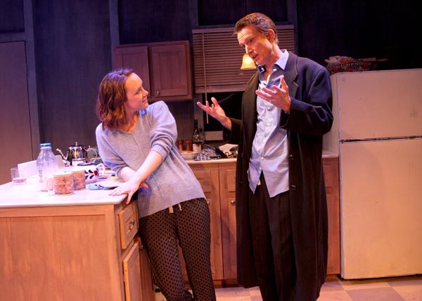 Jessica Erin Martin (as Kyra) and Steve Marvel (as Tom) Photo