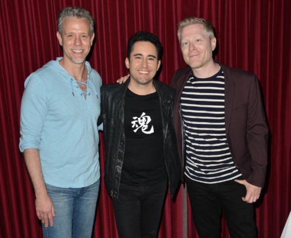 Adam Pascal, John Lloyd Young, Anthony Rapp