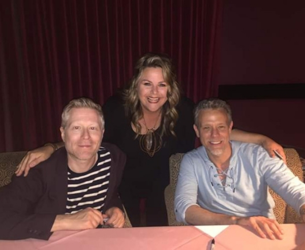 Anthony Rapp, Lisa Donahey, Adam Pascal