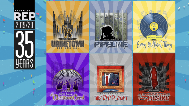 Nashville Rep Reveals 35th Anniversary Season, Leading Off With URINETOWN THE MUSICAL
