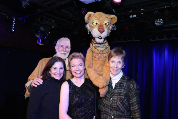 Photo Flash: AVENUE Q's Jennifer Barnhart Returns To Laurie Beechman With IT'S ABOUT TIME