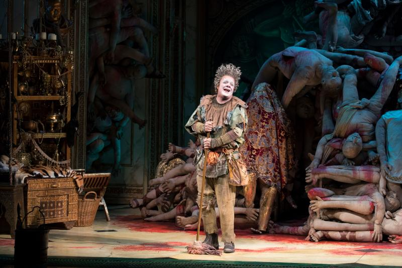 BWW Review: Nathan Lane, Kristine Nielson and Julie White are Bloody Brilliant in Taylor Mac's Absurdist GARY: A SEQUEL TO TITUS ANDRONICUS