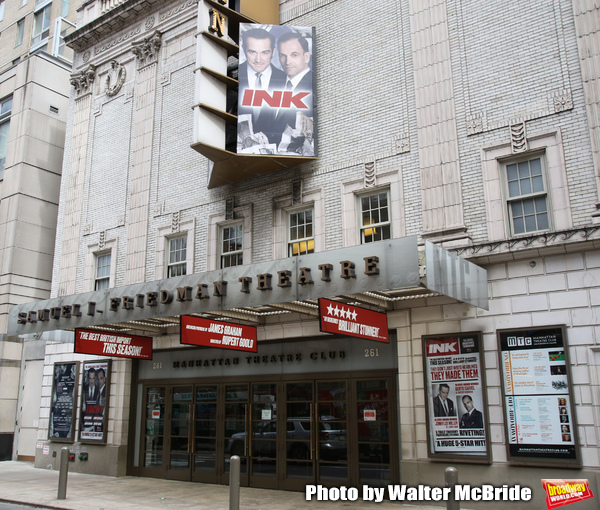 Up on the Marquee: INK Arrives on Broadway