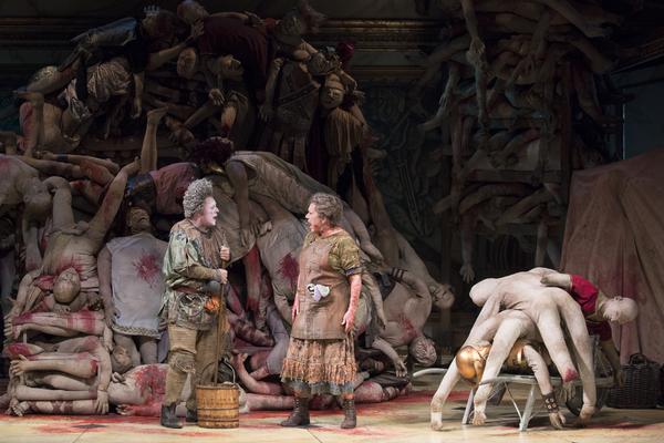 Photo Flash: First Look at Nathan Lane, Kristine Nielsen & Julie White in GARY on Broadway!