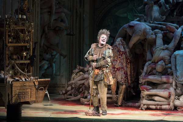 Photo Flash: First Look at Nathan Lane, Kristine Nielsen & Julie White in GARY on Broadway!