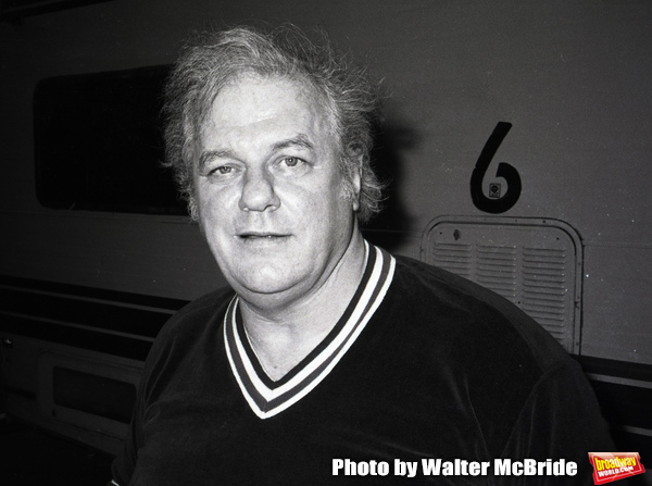 Charles Durning on the set filming TOOTSIE on June 9, 1982 in New York City.