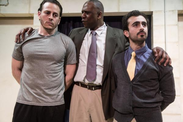 Bassam Abdelfattah, Bradford Stevens and Salar Ardebili Photo