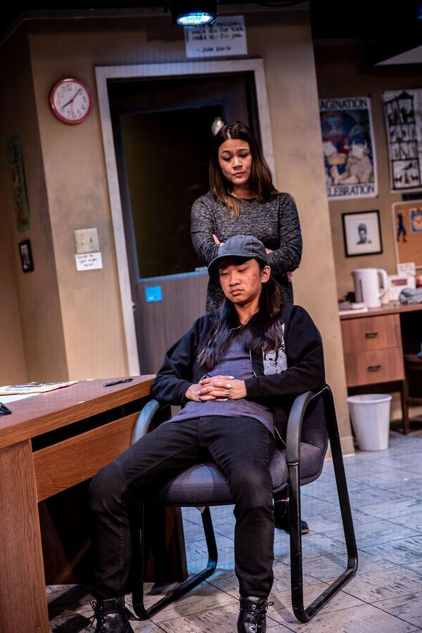 Olivia de Guzman (Gina), Alex Vinh (Dennis)