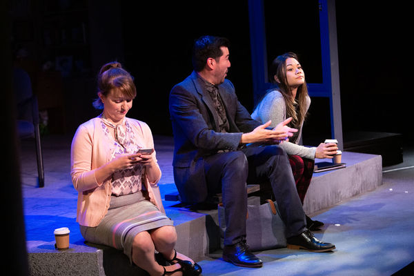 Whitney Holotick (Genevieve), Ivan Jasso (David), Olivia de Guzman (Gina)