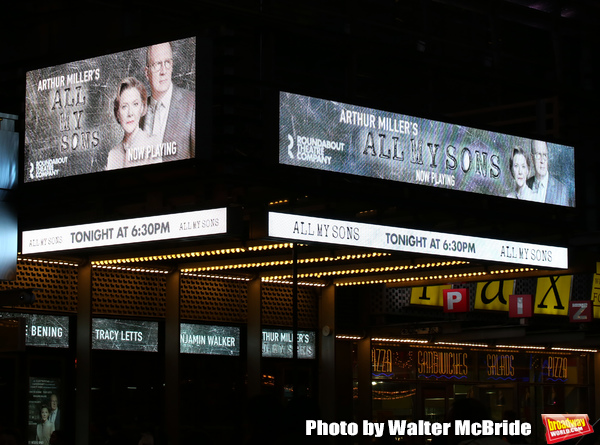 Photo Coverage: The Cast of ALL MY SONS, Starring Annette Bening, Takes Opening Night Bows