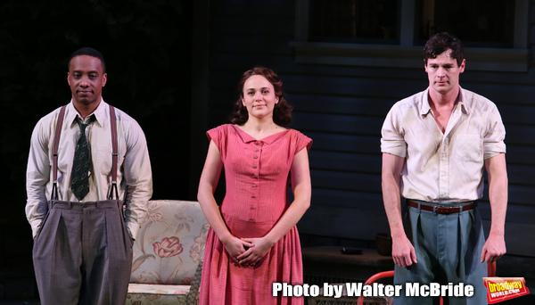 Hampton Fluker, Francesca Carpanini and Benjamin Walker Photo