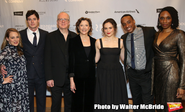 Jenni Barber, Benjamin Walker, Tracy Letts, Annette Bening, Francesca Carpanini, Hamp Photo