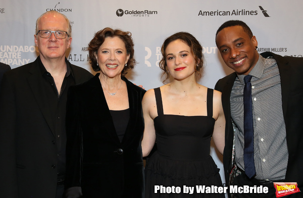 Tracy Letts, Annette Bening, Francesca Carpanini, Hampton Fluker  Photo