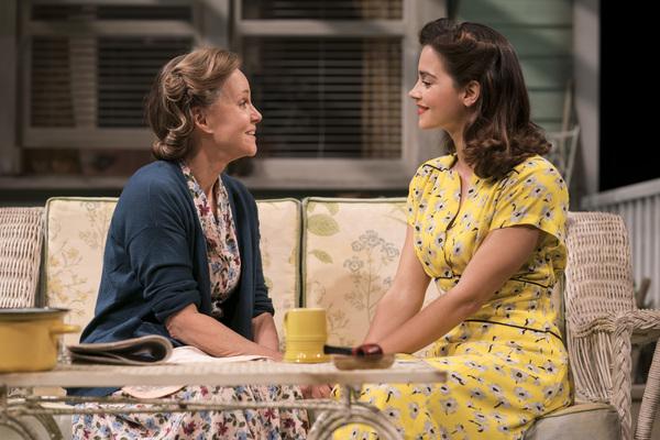 Sally Field (Kate Keller) and Jenna Coleman (Ann Deever)
